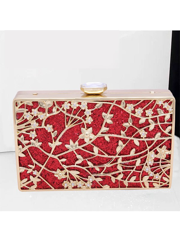 Strass Fashion Metal Party/Evening Bag