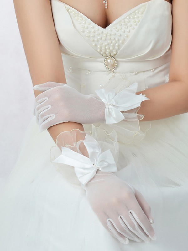 Best Tyll Fiocco Bridal Gloves