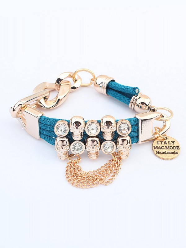 Occident Punk Hyperbolic Skull Fashion Bracelets
