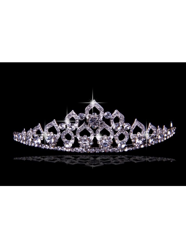 Glamorous Alloy With Czech Strasss Wedding Party Headpiece