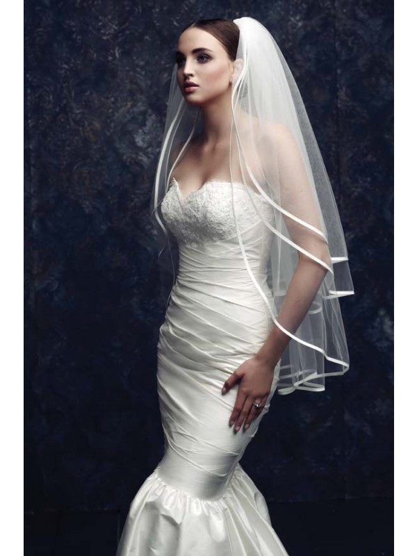 Gorgeous 3 Layer Tyll Bridal Veils